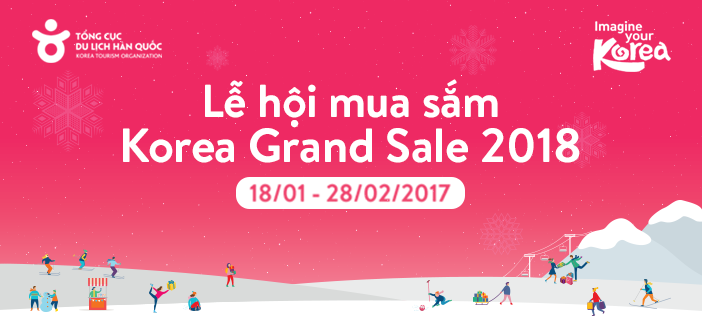 le hoi mua sam korea grand sale 2018 tai han quoc