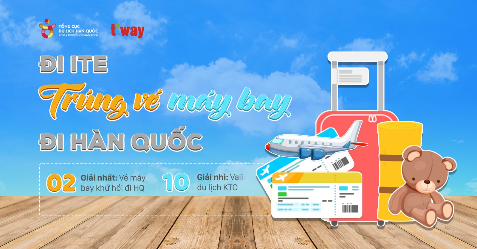 event di ite trung ve may bay di han quoc