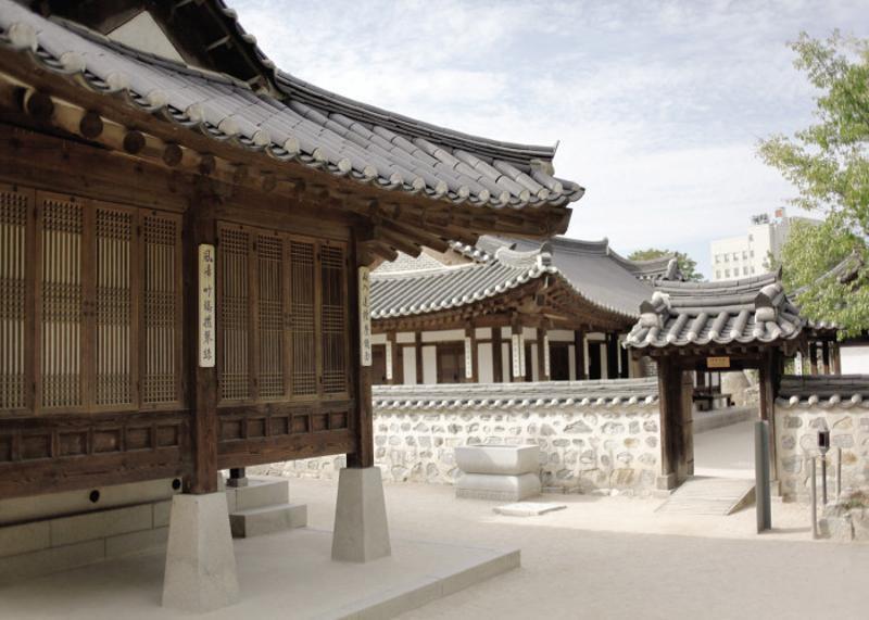 du-lich-lang-hanok-Namsangol-han-quoc