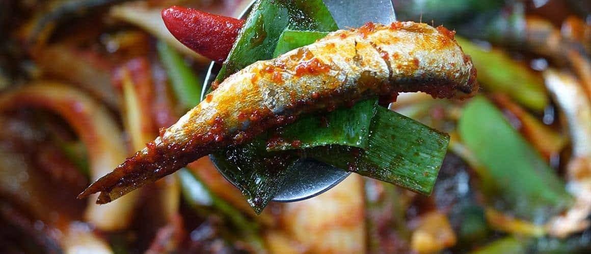 Súp cá cơm, cá cơm hầm, Cheon Hye Hyang 1