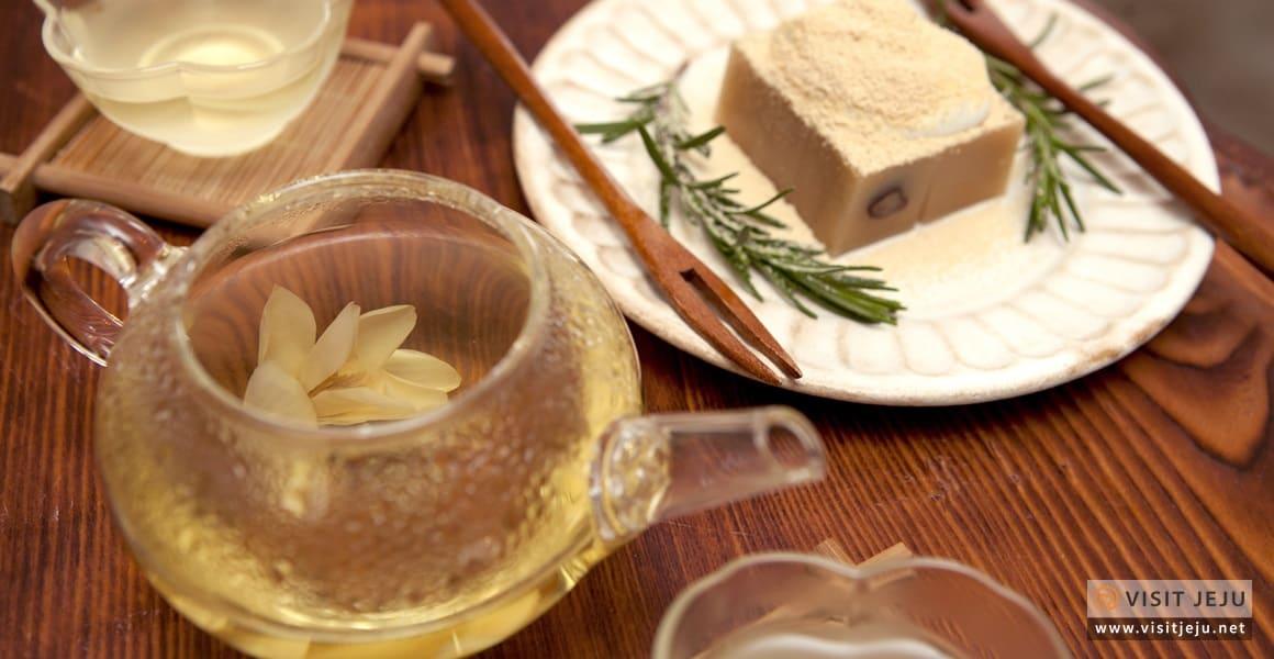 Quán cà phê trà và hoa