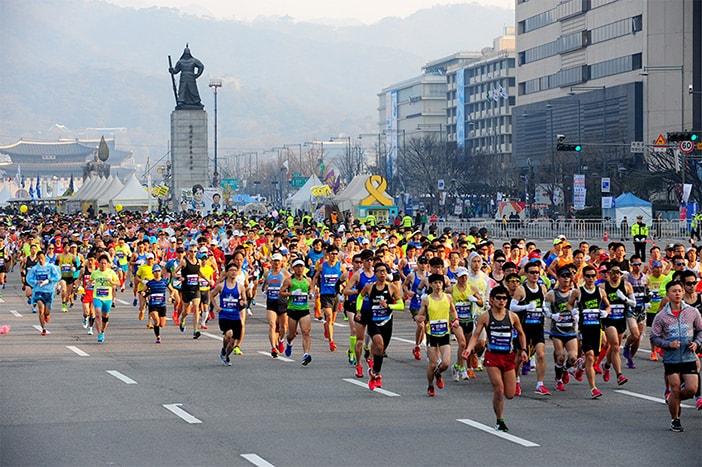 Marathon quốc tế tại Seoul