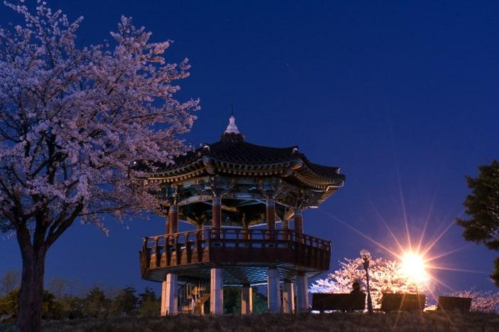 ình Wolpajeong tại Công viên hồ Ilsan