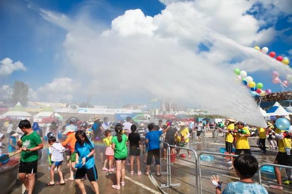 lễ hội ở hàn quốc tháng 8 2