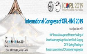 Hội nghị quốc tế của ORL-HNS 2019 (ICORL 2019)