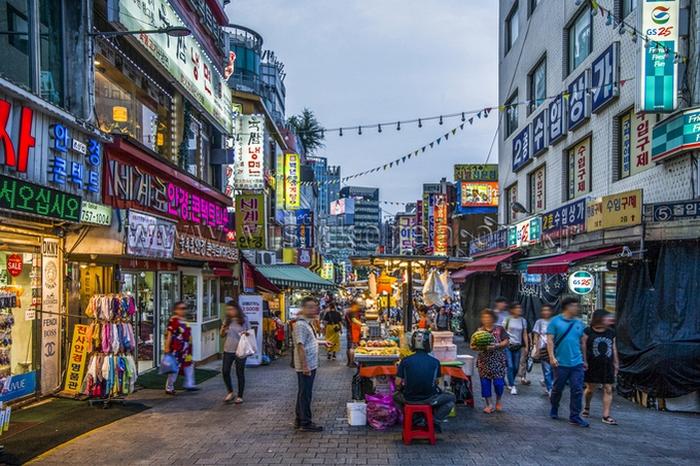 chợ namdaemun seoul hàn quốc 2