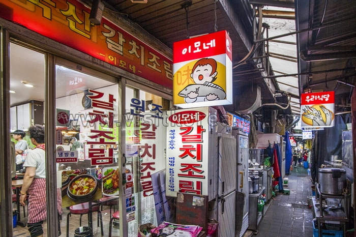 chợ namdaemun seoul hàn quốc 4