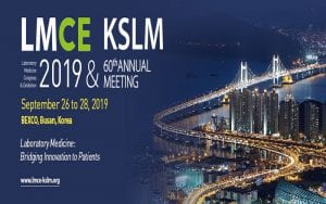 Hội nghị thường niên LMCE (Hội nghị & Triển lãm Thí Nghiệm Y Học Lâm Sàng) 2019 & KSLM lần thứ 60