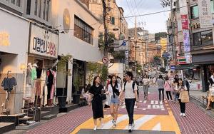 Khám phá khu phố tuyệt vời nhất Seoul - Hongdae