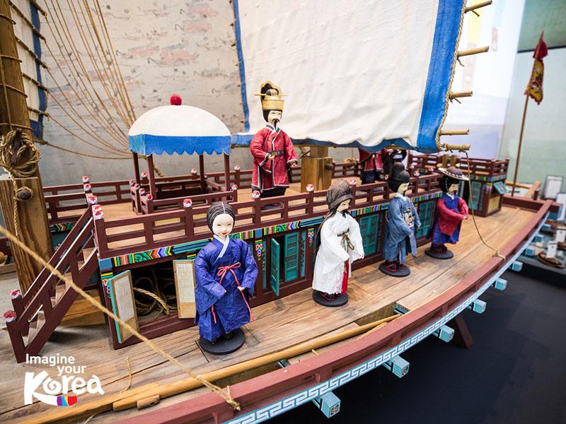 Hiện nay bảo tàng vẫn còn lưu giữ rất nhiều các hiện vật giúp tái hiện lại các chuyến đi của phái đoàn Joseon Tongsinsa thời xưa.
